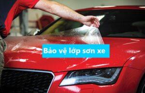 Bảo vệ lớp sơn xe ô tô