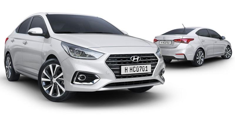 Tổng thể xe Hyundai Accent