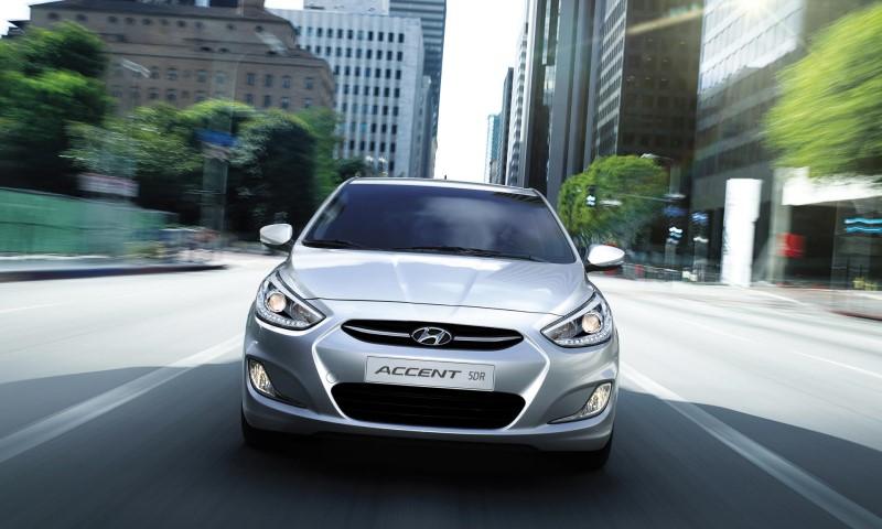 Xe Hyundai Accent với kiểu dáng thanh lịch trong phân khúc Sedan