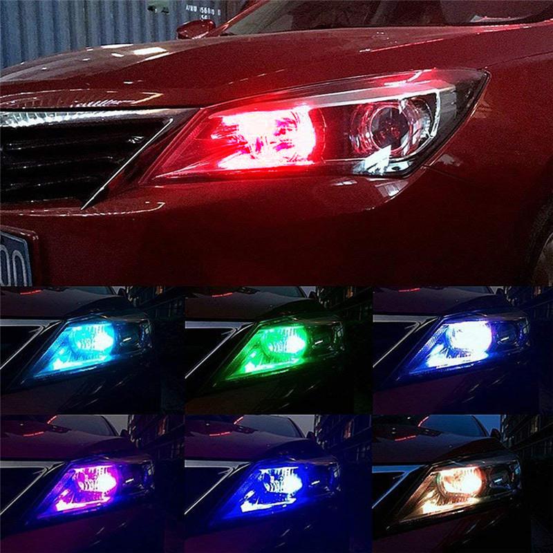 Đèn led đủ màu sắc sặc sở trên xe ô tô tạo nên cá tính người dùng