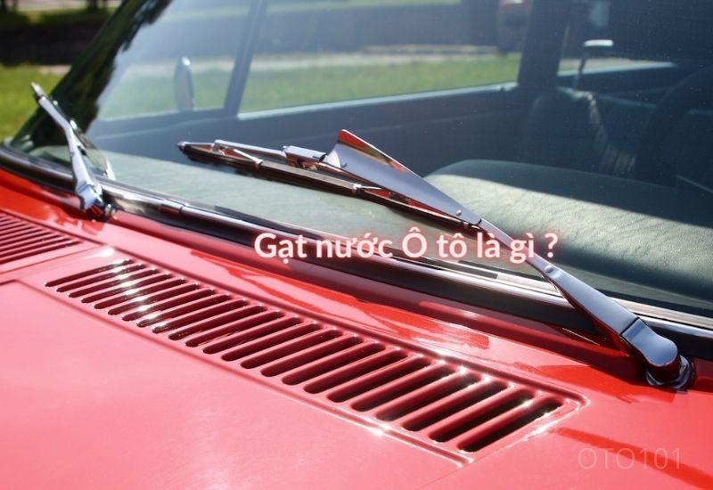 Gạt nước ô tô là gì