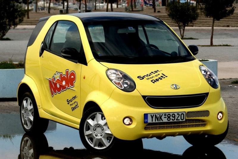 Shuanghuan Noble dòng xe smart của Trung Quốc