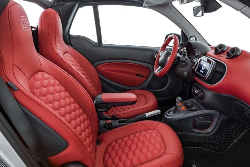 Smart ô tô góc ghế ngồi