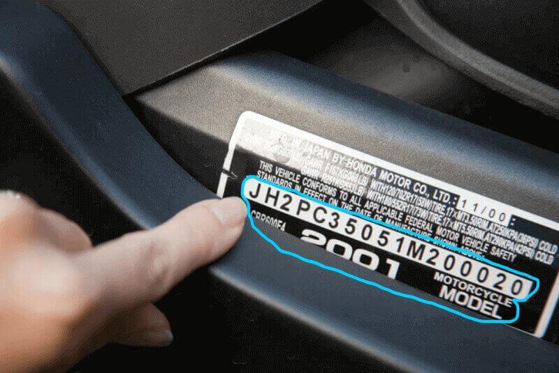 Số Vin xe là gì
