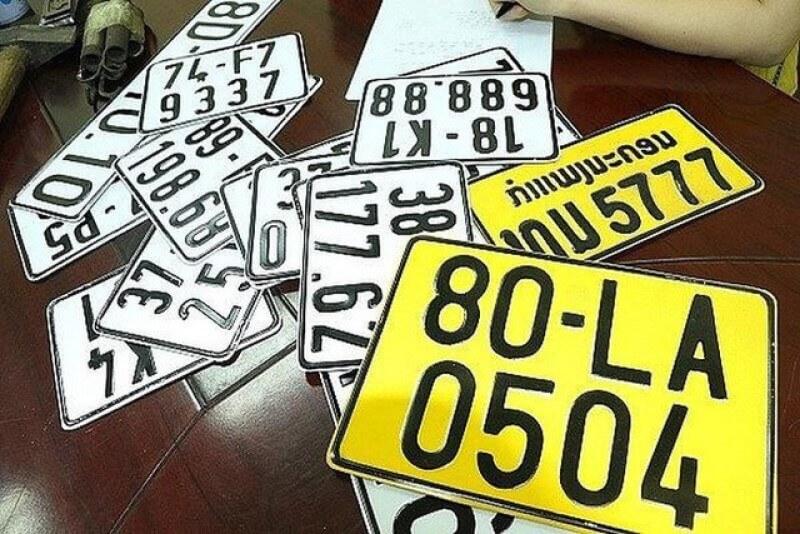Ý nghĩa biển số xe ô tô