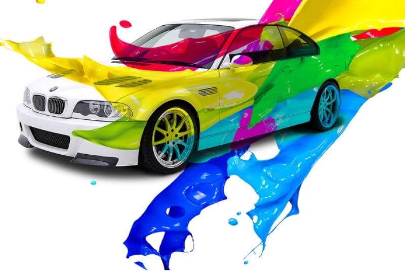 Các màu sơn xe ô tô