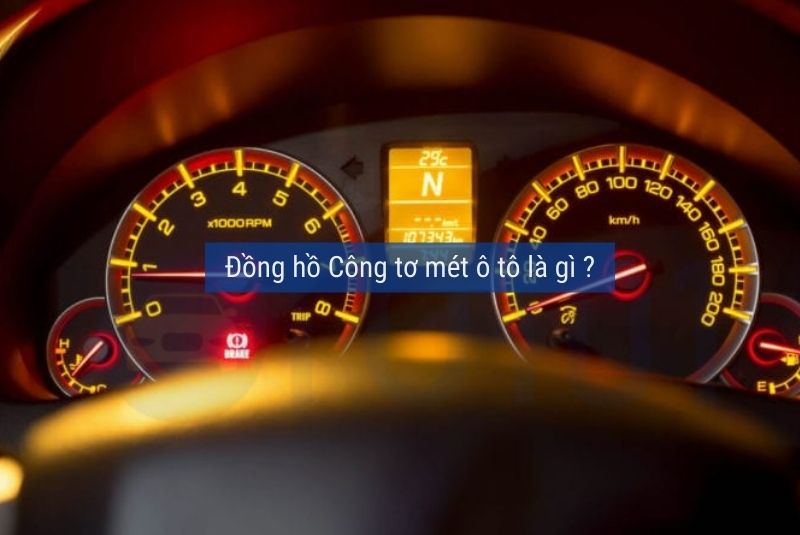 Đồng hồ công tơ mét ô tô