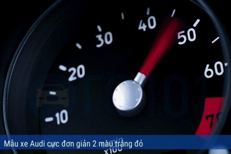 Mẫu đồng hồ xe Audi