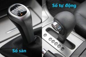 So sánh xe số sàn và tự động