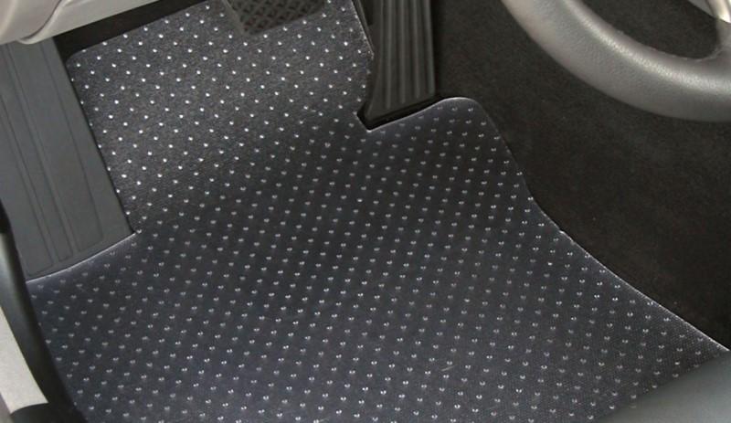thảm lót sàn với gân nổi tròn