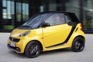 xe ô tô 2 chỗ smart