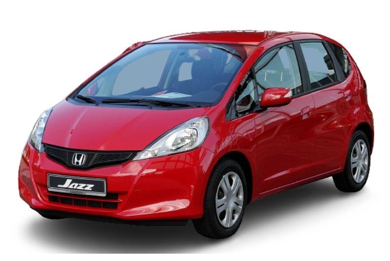 Xe honda jazz phiên bản đầu tiên 2004 với mẫu màu đỏ