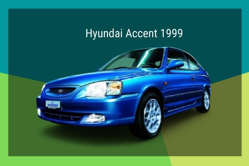 Thế hệ thứ hai Accent năm 1999