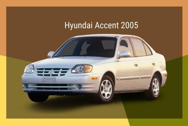 Thế hệ thứ 3 năm 2005 xe Hyundai Accent