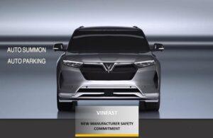 Giải thưởng cam kết cao về mức độ an toàn là sự ghi nhận mạnh mẽ của quốc tế dành cho hãng xe tôn trọng khách hàng