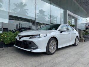 Toyota Camry 2021 thực sự là đối thủ đáng gờm của các mẫu xe cùng phân khúc