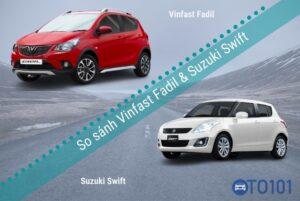 So sánh xe Vinfast Fadil và Suzuki Swift