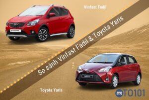 So sánh xe Vinfast Fadil và toyota Yaris