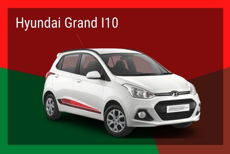 Mẫu xe giá rẻ Hyudai grand i10