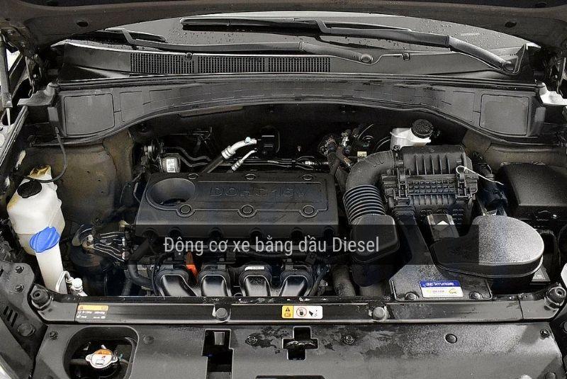 Động cơ ô tô chạy bằng dầu Diesel