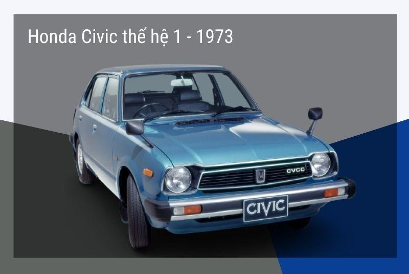 Civic thế hệ đầu tiên: 1973-79