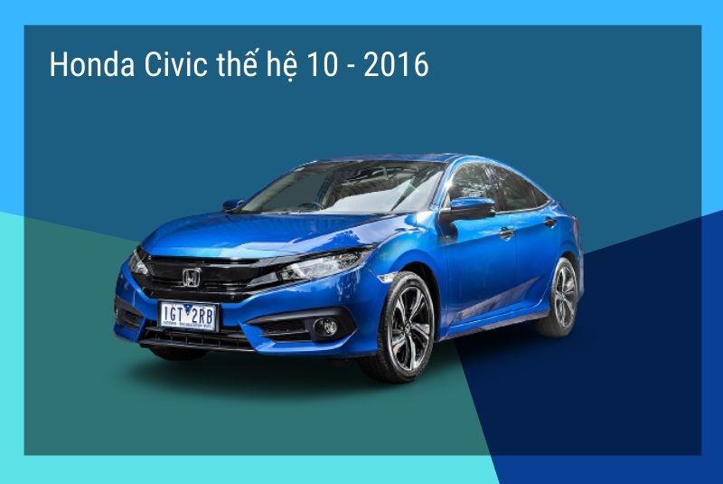 honda civic the he 10 2016