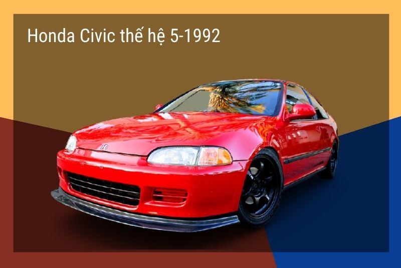 honda civic the he 5 1992