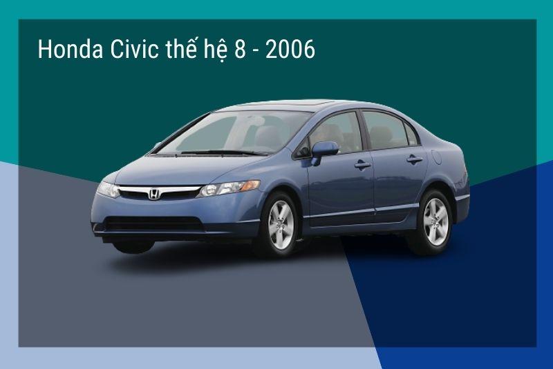 honda civic the he 8 2006
