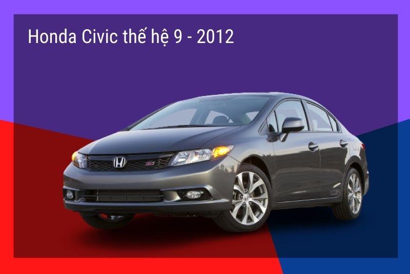 honda civic the he 9 2012