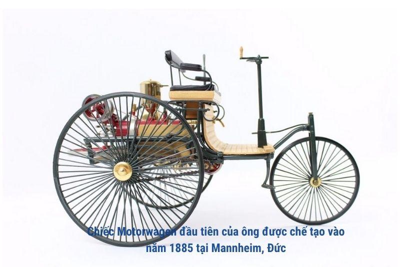 xe oto motorwagen nam 1885