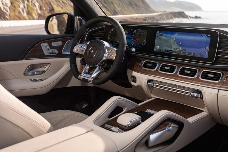 Nội thất Lazang xe Mercedes AMG GLS636