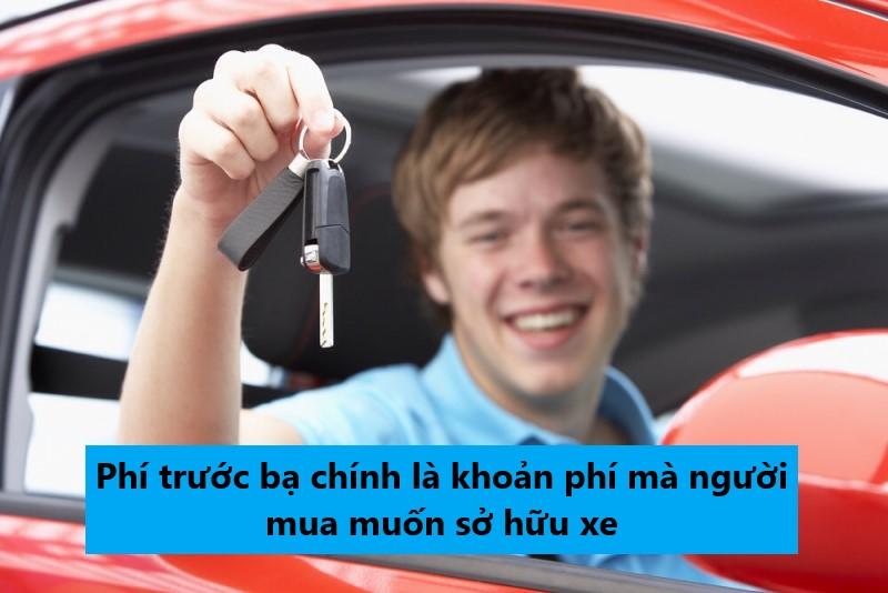 thuế trước bạ dành cho ô tô