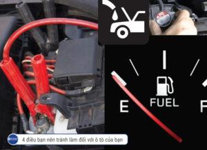 4 điều cần tránh làm với xe ô tô của bạn