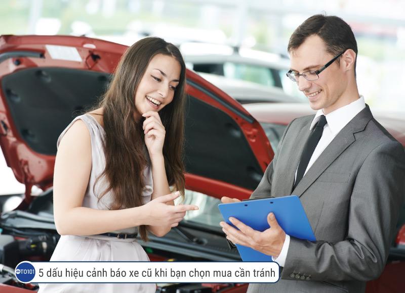 5 dấu hiệu cảnh báo xe cũ khi bạn chọn mua cần tránh