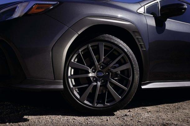 Mẫu bánh xe Subaru WRX đời 2022