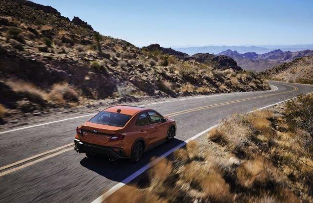 2022 Subaru WRX drive 2 610x397 1