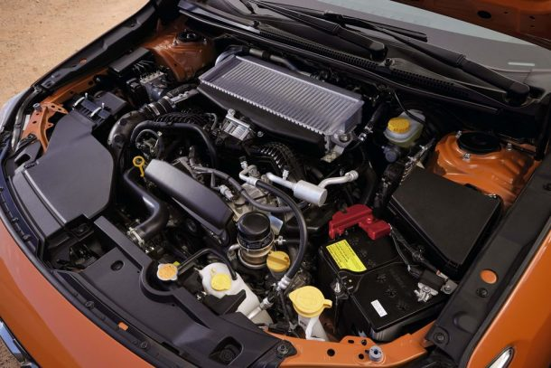 2022 Subaru WRX guts 610x407 1