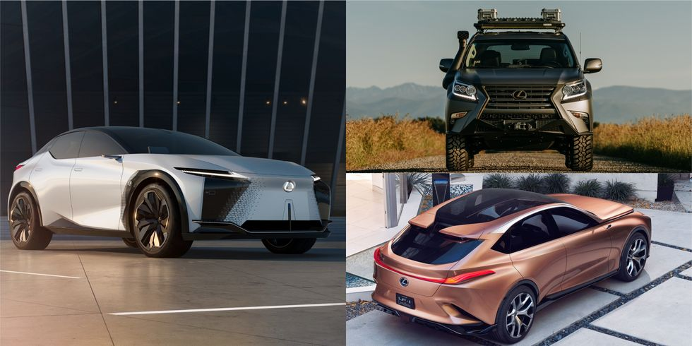 Những mẫu xe lesux SUV tương lai