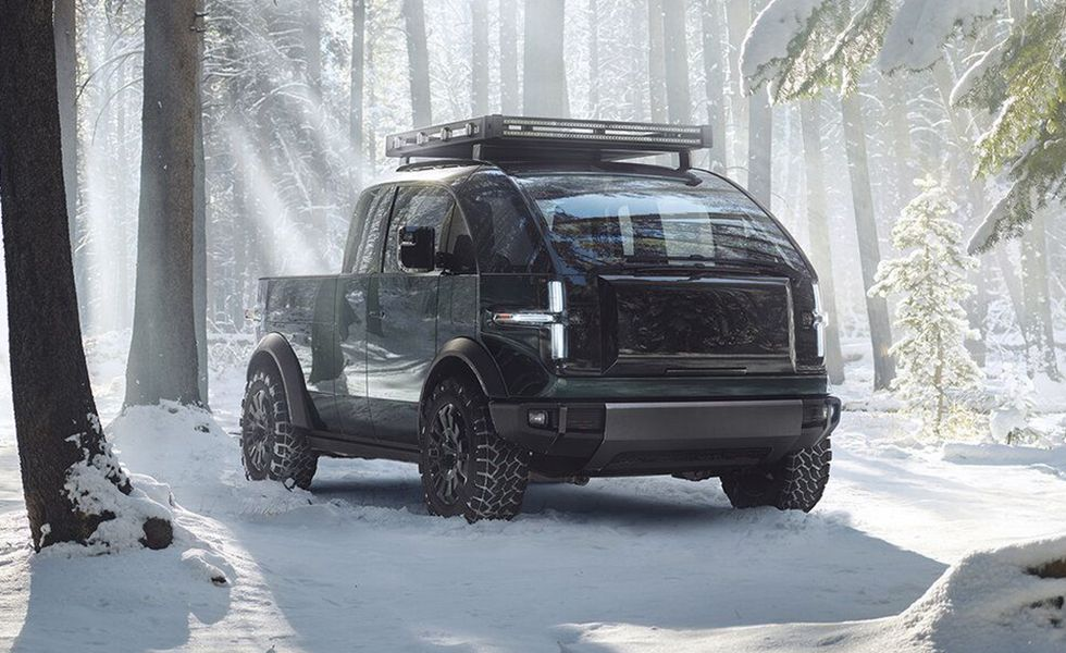 Canoo Pickup Truck (Expected: 2024)